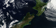 View New Zealand from space